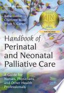 Handbook of Perinatal and Neonatal Palliative Care Book PDF