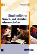 Studienführer Sprach- und Literaturwissenschaften