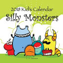 2018 Kid s Calendar  Silly Monsters