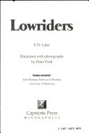 cover img of Lowriders