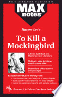 To Kill a Mockingbird  MAXNotes Literature Guides