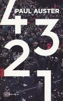 4 3 2 1 Book Cover