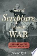 Sacred Scripture  Sacred War Book PDF