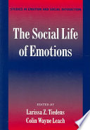 The Social Life of Emotions Book PDF