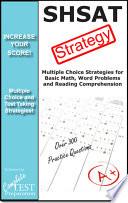 Shsat Strategy