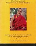 Teachings of His Holiness the Dalai Lama