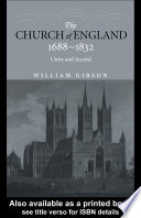 The Church of England 1688 1832