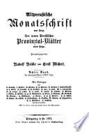 Preussische Provinzial-Blätter