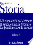 Riassunti di Storia   Volume 3