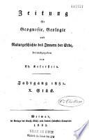Deutschland geognostisch-geologisch Dargestellt und mit Charten und Durchschmittszeichnungen erläutert