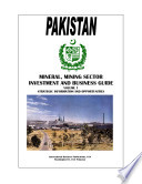 pakistan mineral mining sector investment and business guide