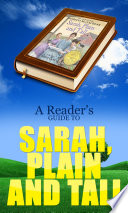 download ebook a reader's guide to sarah, plain and tall pdf epub