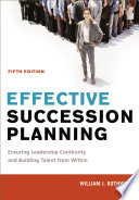 Effective Succession Planning