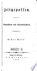 Zeitgenossen. Biographien und Charakteristiken