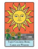 Tarot Coloring Book   Cards and Wisdom