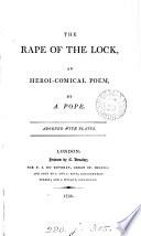 The rape of the lock,