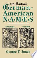 German American Names
