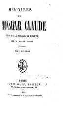 Mémoires de Monsieur Claude