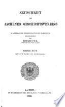 Zeitschrift des Aachener Geschichtsvereins
