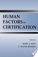 Human Factors in Certification