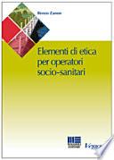 Manuale di etica per l operatore socio sanitario