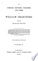 The Comedies  Histories  Tragedies  and Poems of William Shakspere  Tragedies