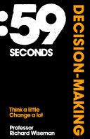 59 Seconds Decision Making