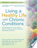 Living a Healthy Life with Chronic Conditions Book PDF
