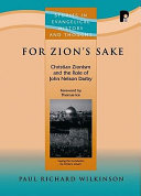 For Zion's Sake Paul Wilkinson Takes Issue With Those Who