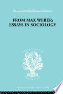 download ebook from max weber: essays in sociology pdf epub