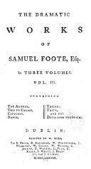 download ebook the dramatic works of samuel foote, esq pdf epub