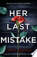 Her Last Mistake Book PDF