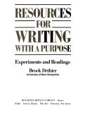 Resources For Writing With A Purpose