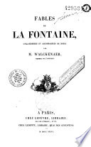 Fables de La Fontaine  collationn  es et annot  es