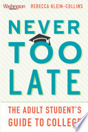 Never Too Late Book PDF