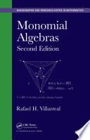Monomial Algebras  Second Edition