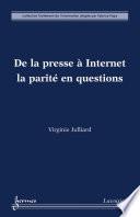 De la presse à Internet : la parité en questions