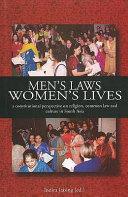 Men s Laws  Women s Lives