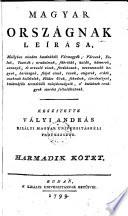 Magyar orszagnak leirasa (etc.)