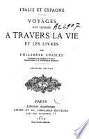 Voyages d un critique    travers la vie et les livres