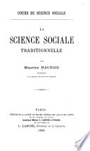Cours de science social