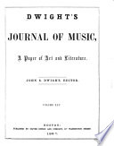 Dwight s Journal of Music