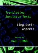 Translating Sensitive Texts