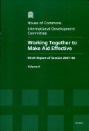 Working Together to Make Aid More Effective