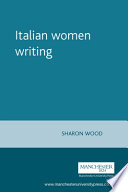 Italian Women Writing