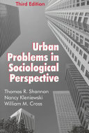 Urban Problems in Sociological Perspective