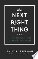 The Next Right Thing Book PDF