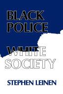 download ebook black police, white society pdf epub