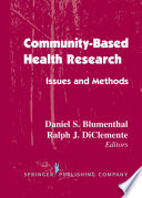 Community  Based Health Research