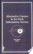 Alternative Careers in Sci-tech Information Service